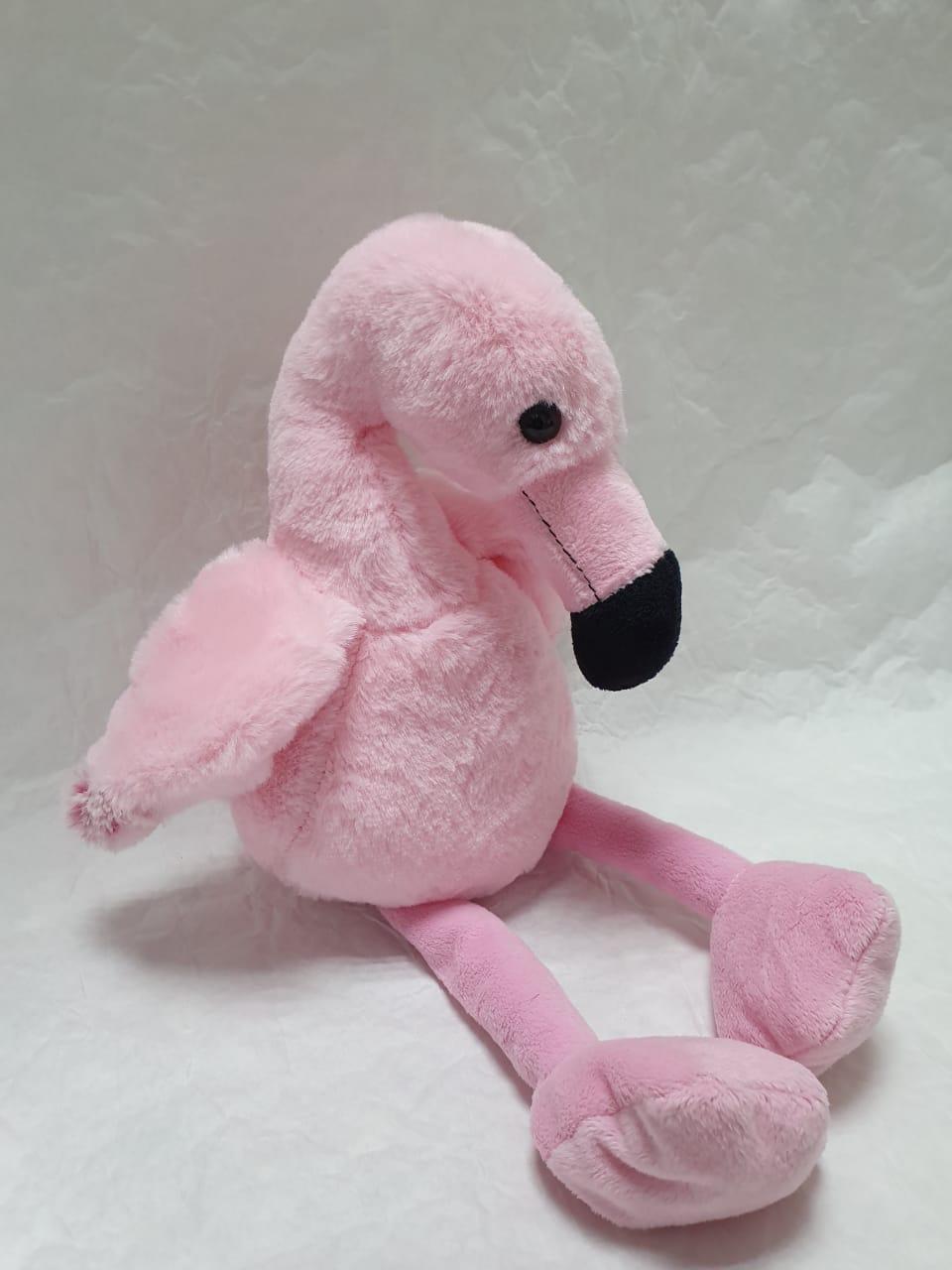 Фламинго маленький (мягкая игрушка)
