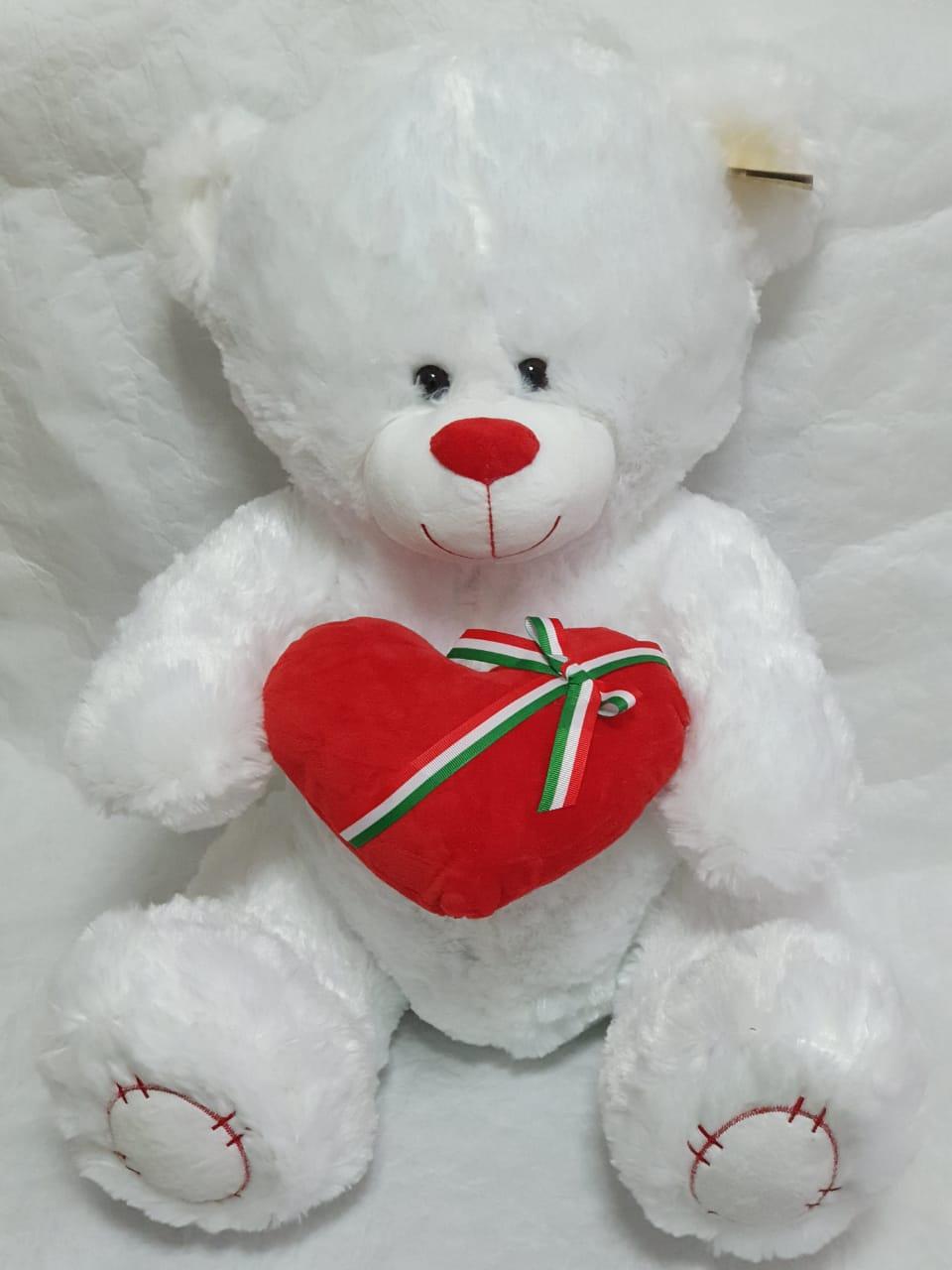 Медведь с сердечком (мягкая игрушка)