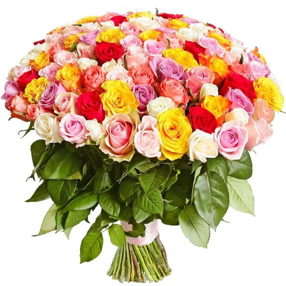 Букет из 51 розы ассорти