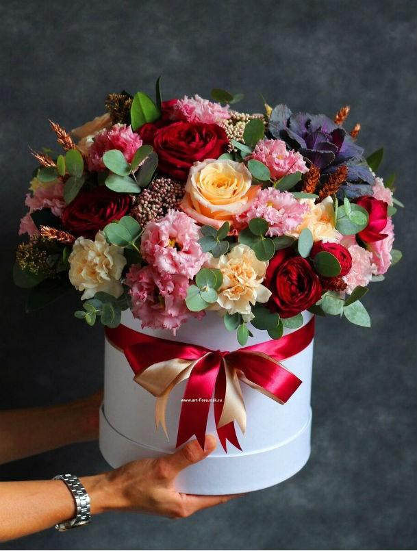 12. Цветы в коробках