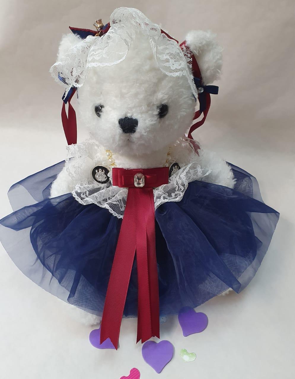 Медведь в платье-пачке