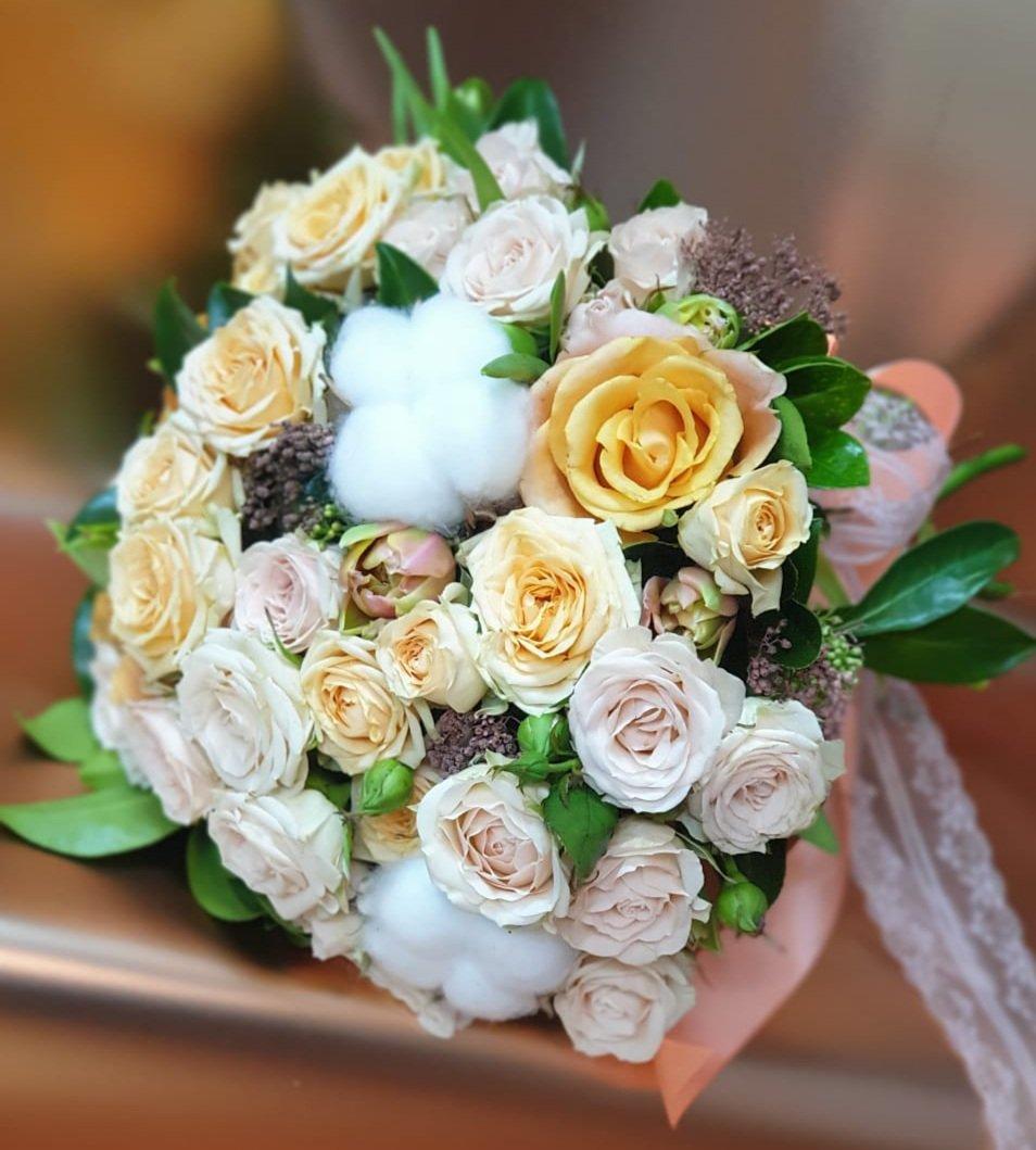 Свадебный букет «Нежный»