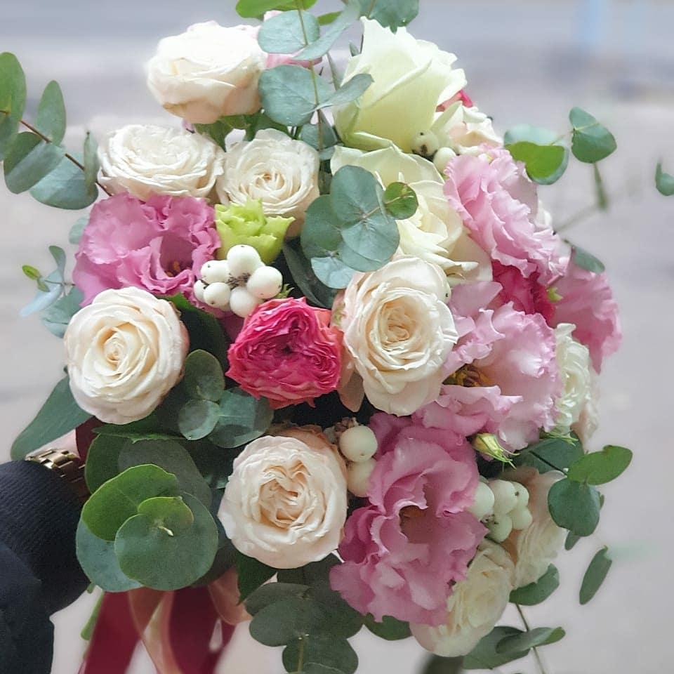 Свадебный букет невесты «Осень»