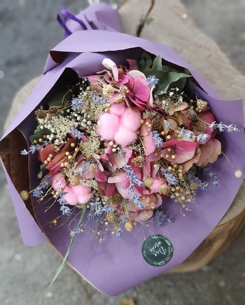 Букет из натуральных сухоцветов — «Летний сон»