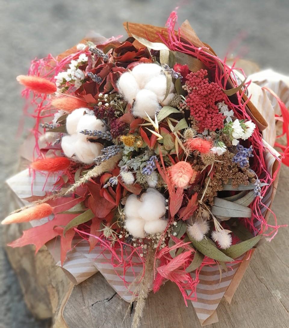 Букет из натуральных сухоцветов — «Романтические сны»