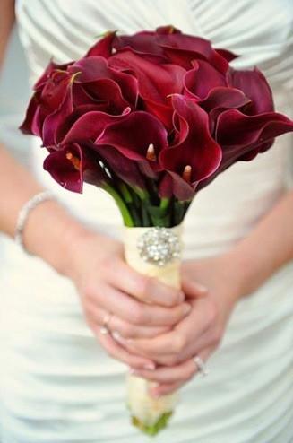 Свадебный букет из каллы